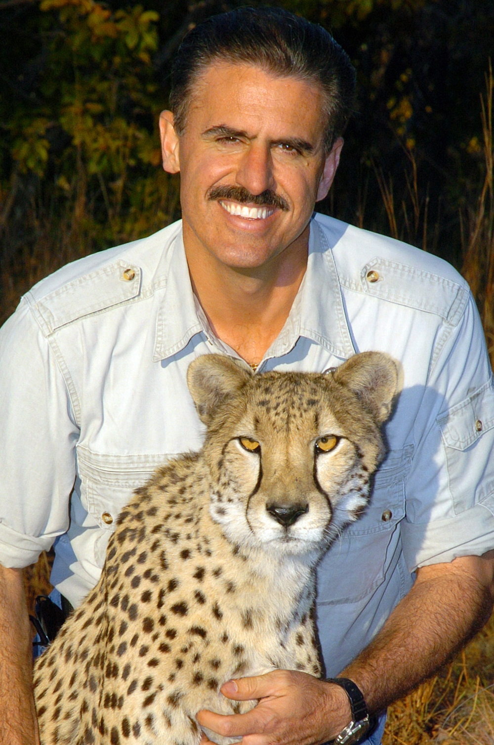 Ron & Cheetah in South Africa